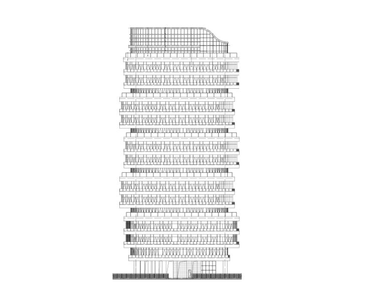 写字楼智能化施工合同资料下载-[深圳]华强创意产业园高层写字楼建筑施工图
