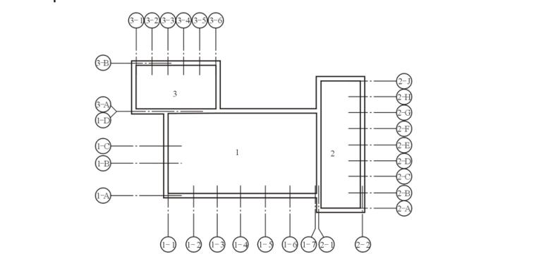 房屋建筑施工图种类及特点概述PPT-04 定位轴线的分区编号