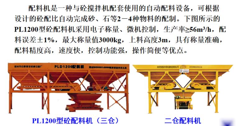 混凝土结构工程砼制备及运输培训讲义PPT-04 配料机配料