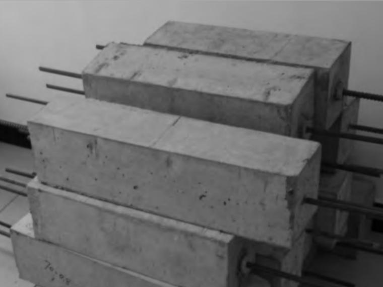 预制混凝土构件钢筋螺旋插筋连接试验研究-图 4 成型试件