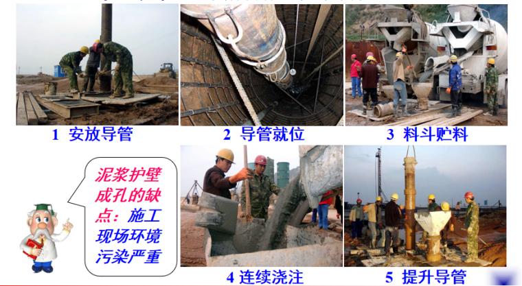 钢筋砼灌注桩施工培训讲义PPT-05 水下浇灌砼