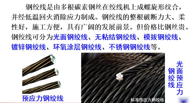 预应力材料及机具施工培训讲义PPT-04 预应力钢绞线