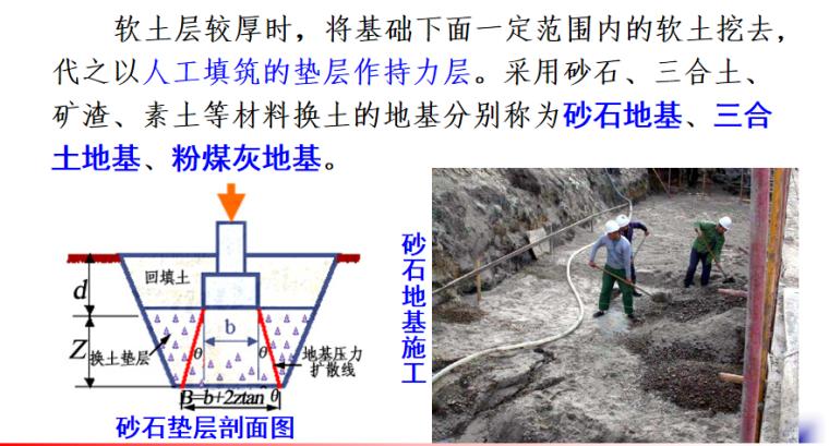 基坑验槽及地基加固处理施工培训讲义PPT-05 换填法