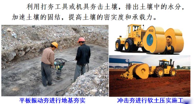 基坑验槽及地基加固处理施工培训讲义PPT-06 夯实法
