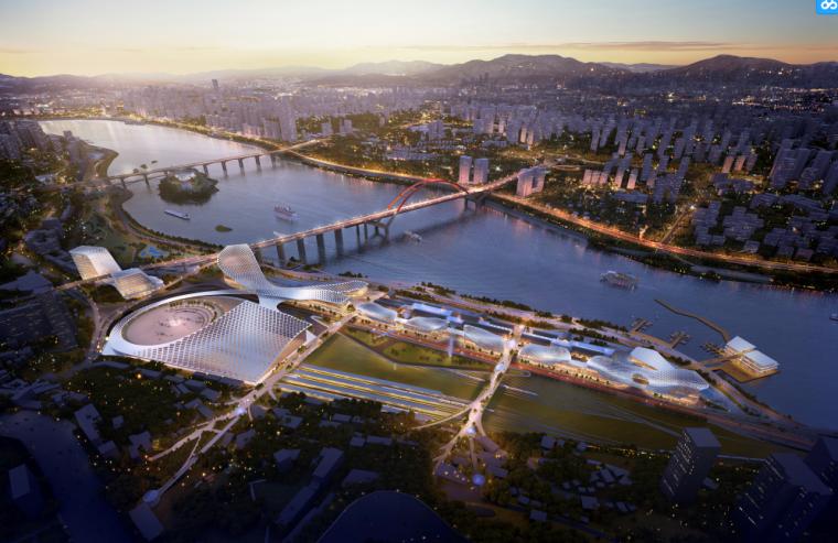 欧式风情街景观资料下载-[重庆]两江四岸治理景观提升方案设计-DMP