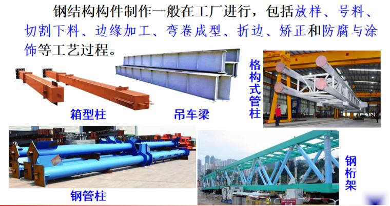 钢结构工程施工培训讲义PPT-02 钢结构构件制作