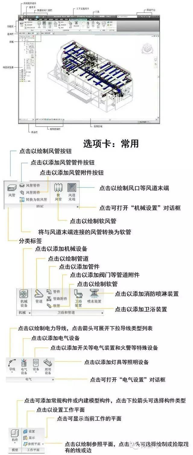 水暖管件cad资料下载-水暖电BIM(Revit MEP)设计基础讲义