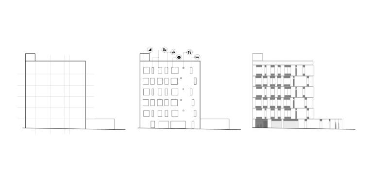 伊朗达鲁斯大厦立面图1