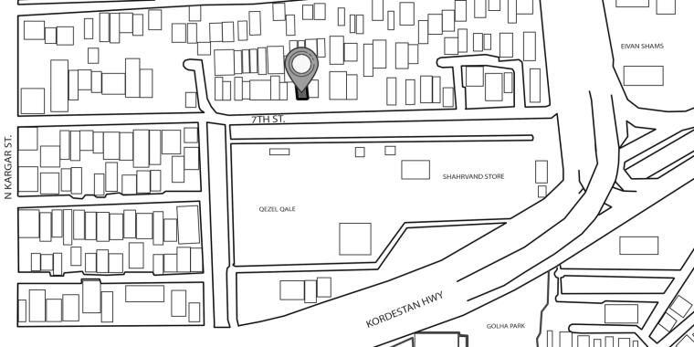伊朗达鲁斯大厦平面图