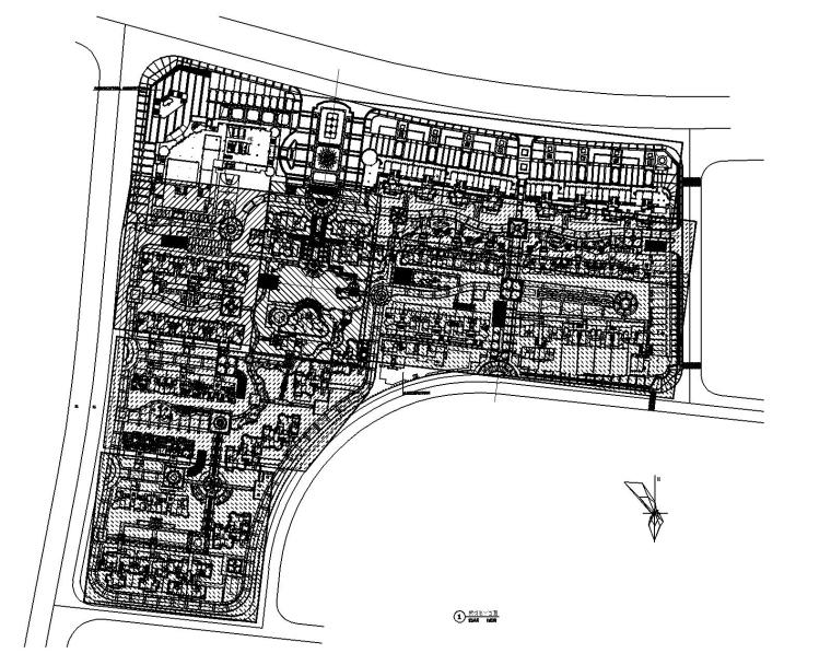 [湖南]长沙市某居住区园林景观工程施工图