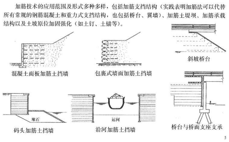 地基处理方法之加筋法概述讲义PPT-02 加筋土的一般应用