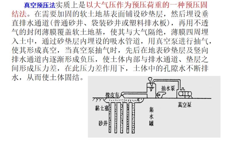基础工程之地基处理培训讲义PPT-07 真空预压法