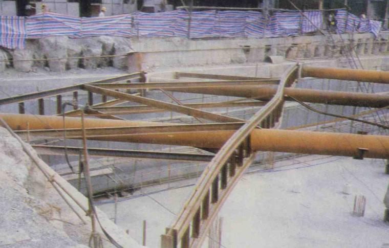 基础工程之基坑工程概述培训讲义PPT-02 角撑局部屈压