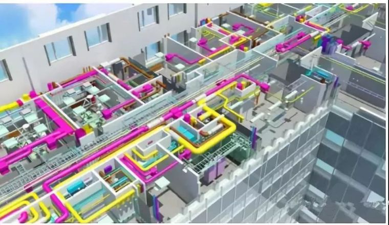 revit族免费下载资料下载-BIM建筑、排水、机电管线排布避让原则