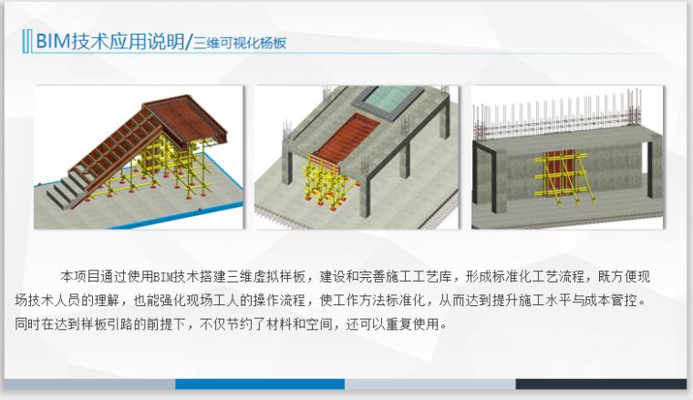 河南装配式BIM管理模式BIM应用实践-三维可视化杨板