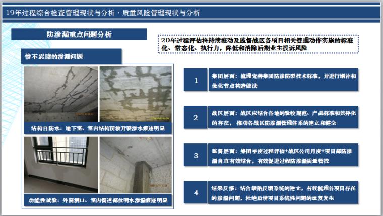 名企19年综合检查分析及20年改进方向(PPT)-防渗漏重点问题分析