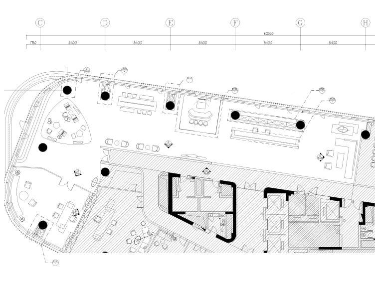 办公空间概念设计汇报资料下载-[上海]徐汇465�O办公样板间装修设计施工图
