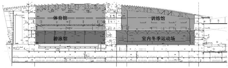 基于空间叠合策略的门头沟体育文化中心绿色_5