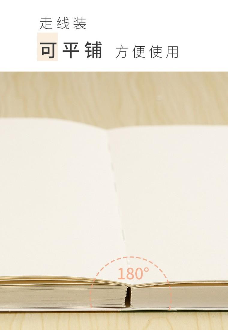 文谷128张梵高精装素描本_8