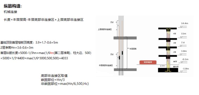 16G101图集框架柱案例实操PPT-04 柱筋中间层构造——纵筋构造