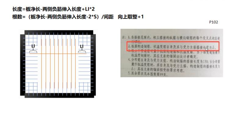 16G101图集抗裂筋及温度筋的计算PPT-02 抗裂筋、温度筋