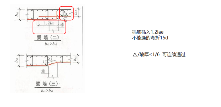 16G101图集特殊构造的计算PPT-03 特殊构造—水平变截面