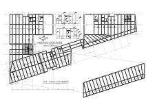 [重庆]5层框架结构_核心筒楼梯仓库结施2019