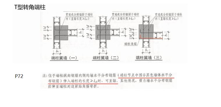 16G101图集墙身水平筋的计算PPT-05 T型转角端柱