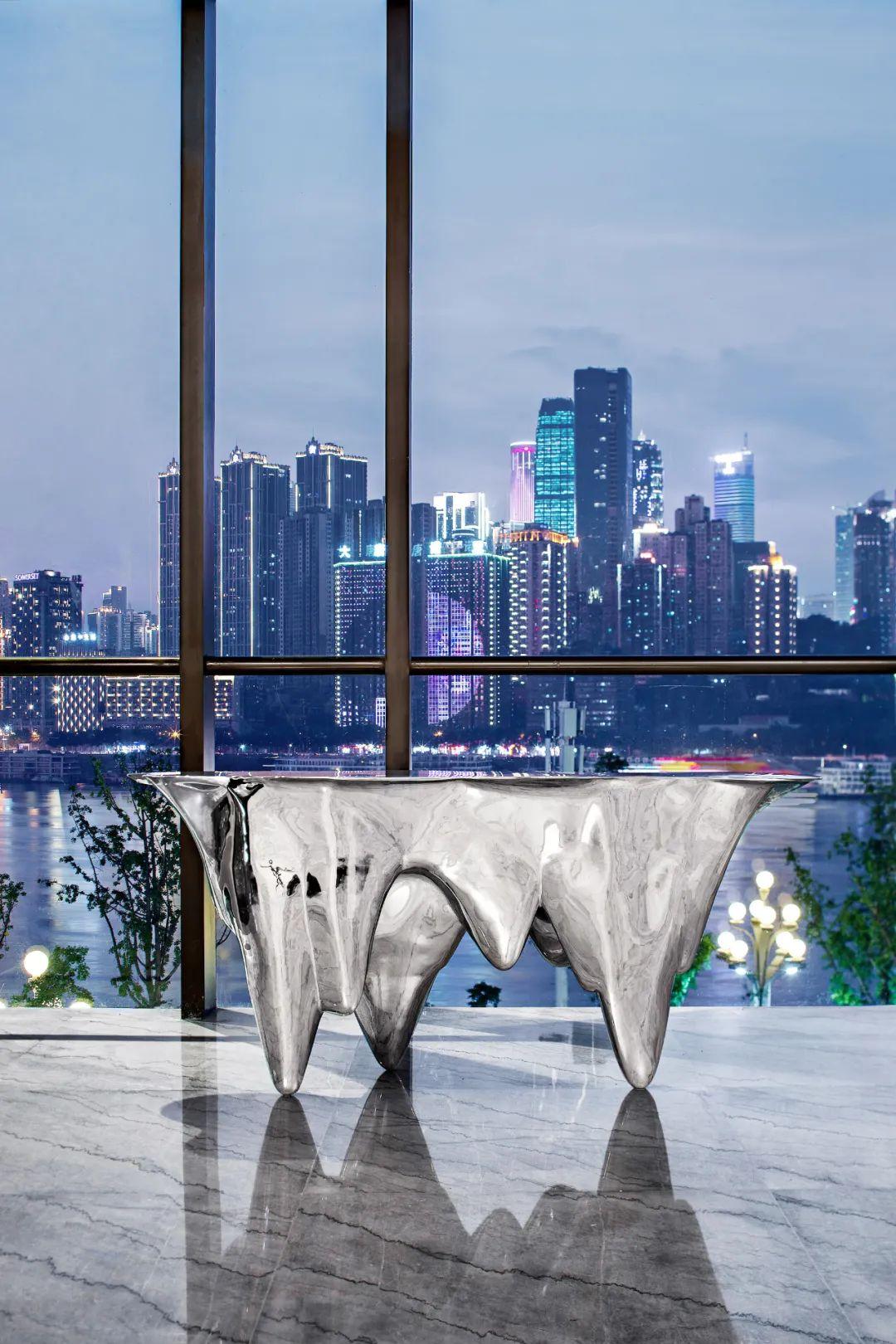 重庆东原集团西南区域办公室室内实景图