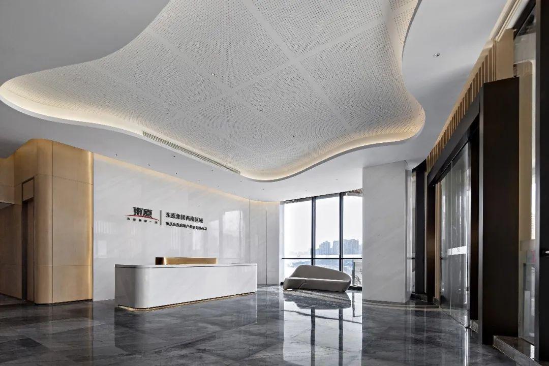 重庆东原集团西南区域办公室室内实景图4
