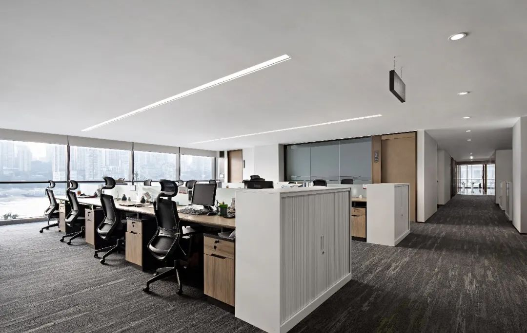 重庆东原集团西南区域办公室室内实景图16
