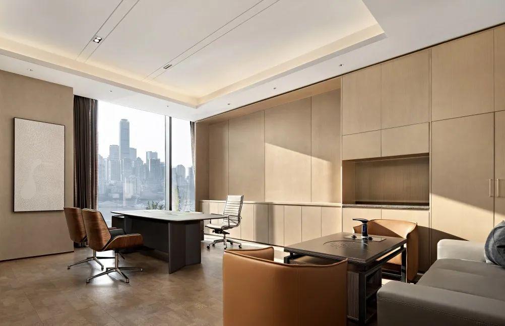 重庆东原集团西南区域办公室室内实景图17