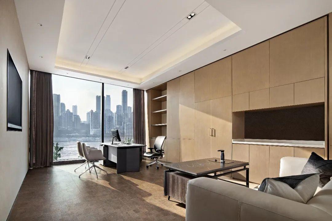 重庆东原集团西南区域办公室室内实景图20