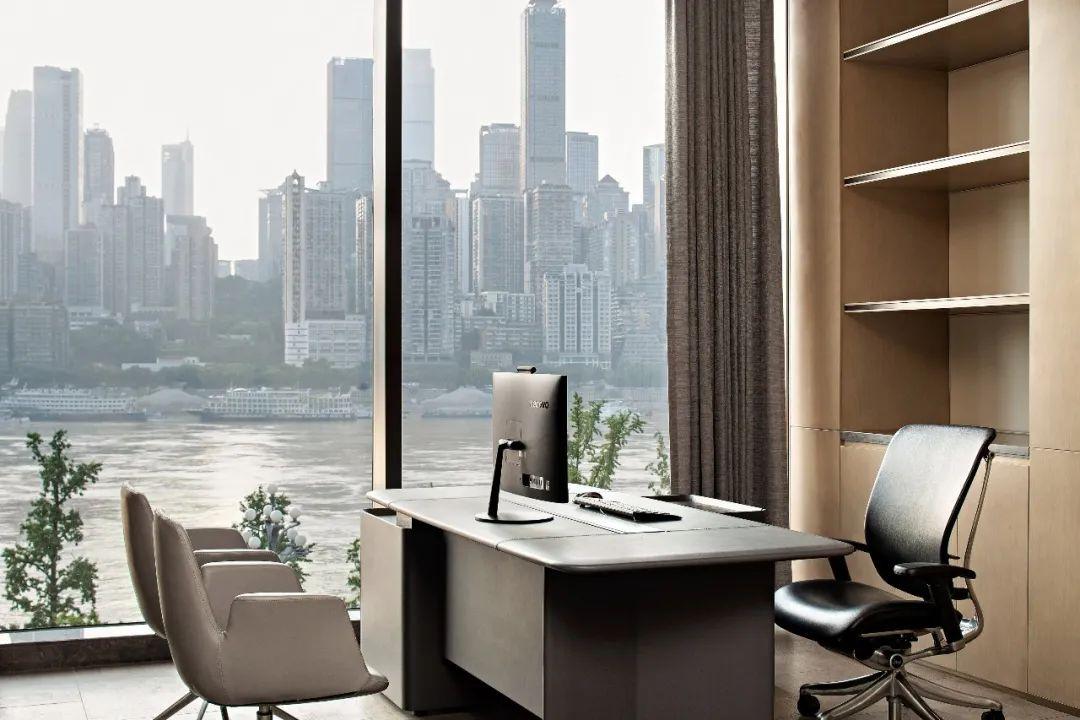 重庆东原集团西南区域办公室室内实景图21