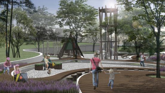 [一键下载]12套精品居住区住宅景观方案合集-[杭州]新中式未来城居住区景观方案设计