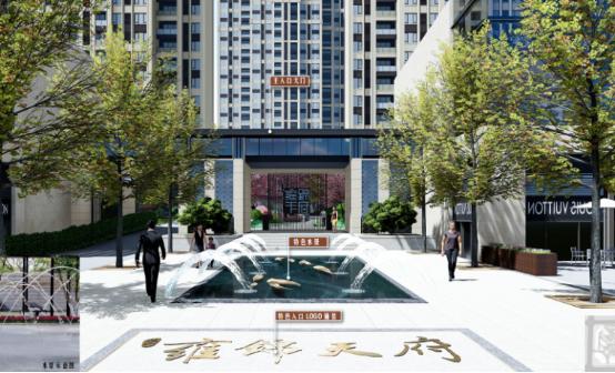 [一键下载]12套精品居住区住宅景观方案合集-[广东]深圳滨海休闲带现代居住区景观设计