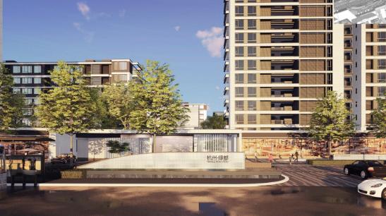 [一键下载]12套精品居住区住宅景观方案合集-[浙江]杭州某现代共享社区景观方案设计