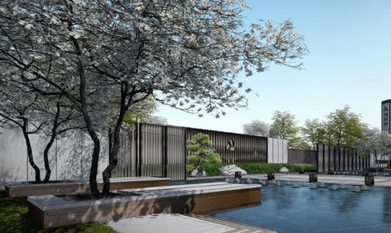 [一键下载]12套精品居住区住宅景观方案合集-[江苏]扬州新中式文化社区景观设计方案
