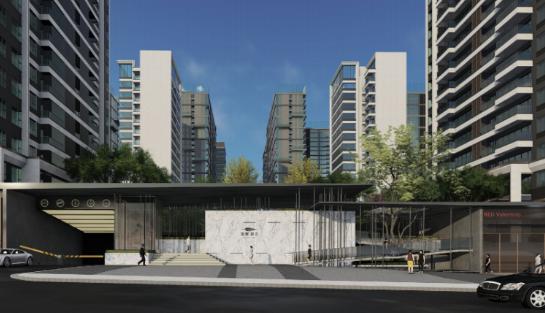 [一键下载]12套精品居住区住宅景观方案合集-[四川]某全功能现代高档社区景观设计方案