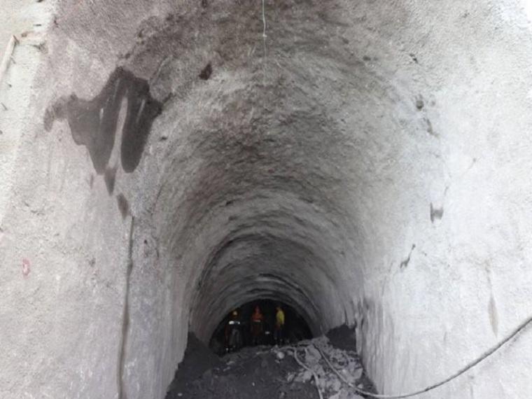 水利枢纽电站斜井开挖施工方案-斜井开挖支护