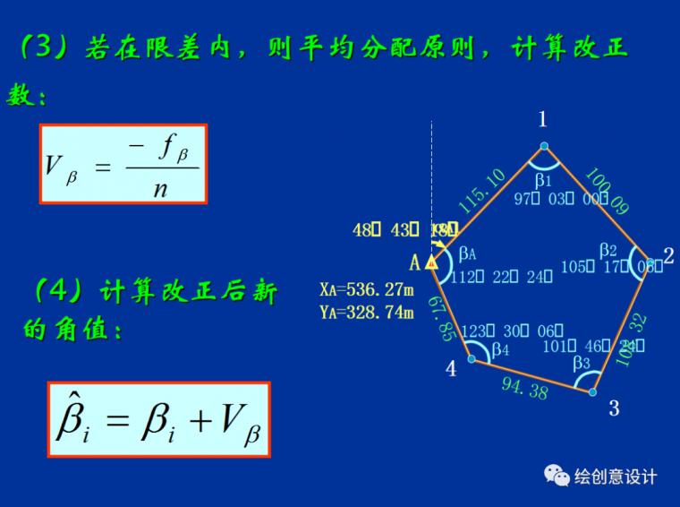 干货!实用的导线测量内业计算方法汇总!_8