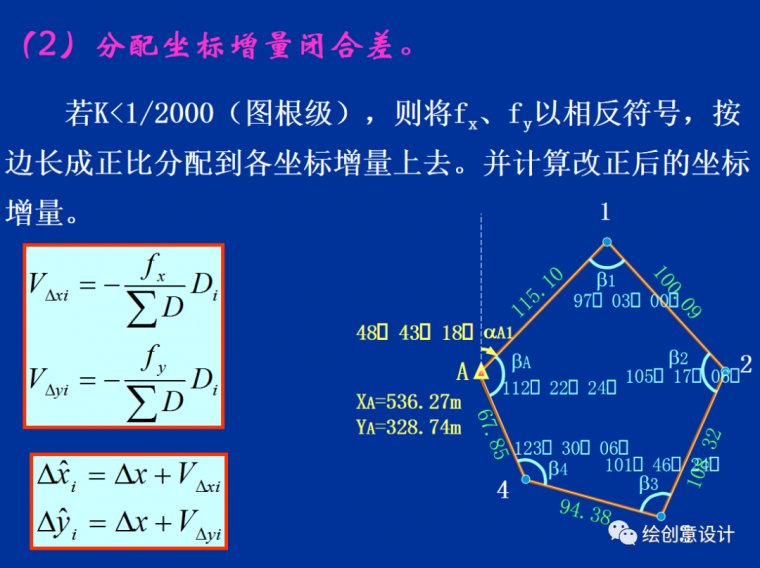 干货!实用的导线测量内业计算方法汇总!_11