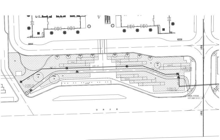 [广东]万象城西侧商业住宅景观给排水竣工图-万象城西侧商业住宅景观给排水竣工图 (3)