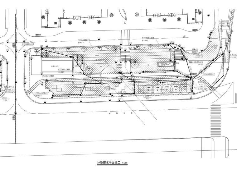 [广东]万象城西侧商业住宅景观给排水竣工图-万象城西侧商业住宅景观给排水竣工图 (1)