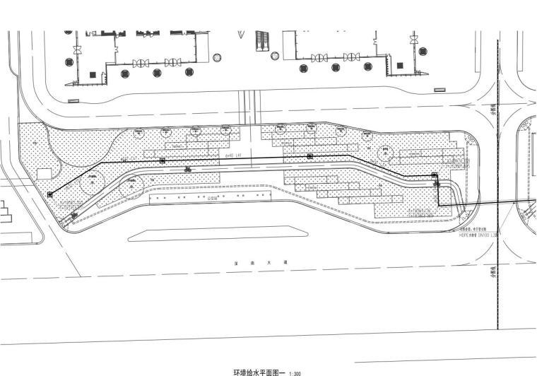 [广东]万象城西侧商业住宅景观给排水竣工图-万象城西侧商业住宅景观给排水竣工图 (4)