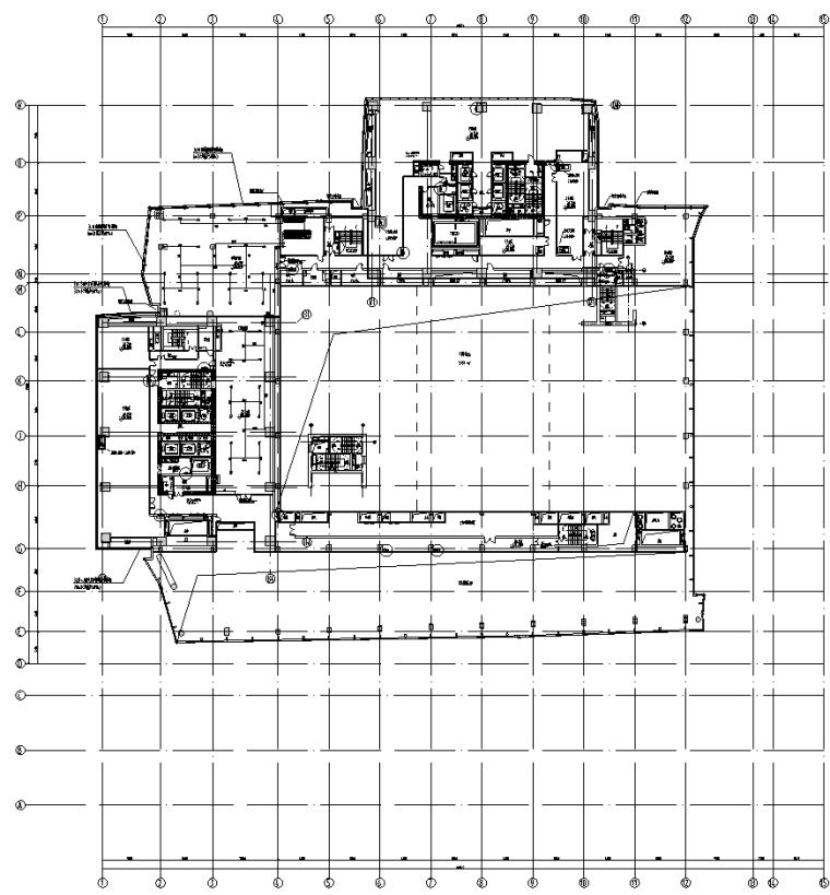 成都高层住宅cad资料下载-知名院丨成都高层住宅小区机电设备施工图
