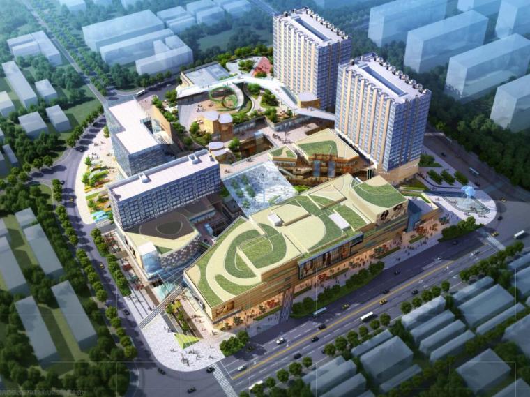 南京林业大学广场设计资料下载-[广东]机场空港区商业广场景观设计方案