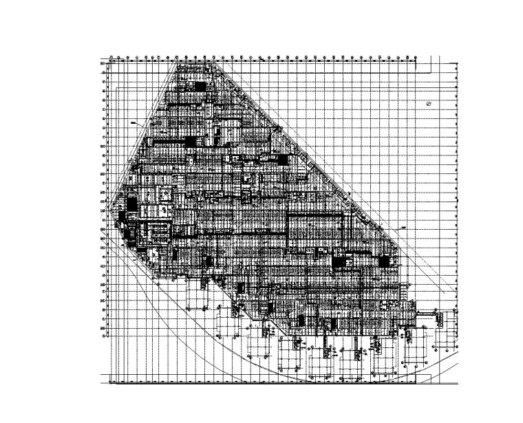 欧式二层滨水咖啡厅图资料下载-上海高层科技园给排水施工图