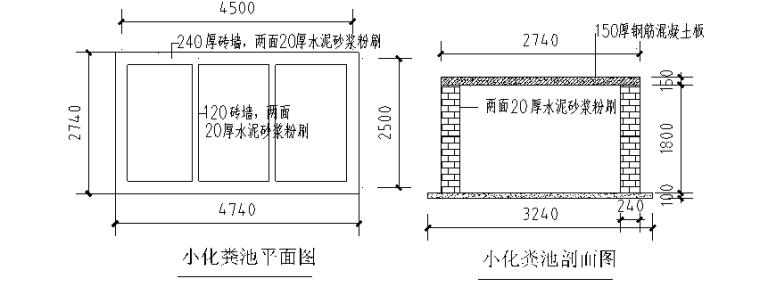 18层剪力墙结构住宅搂施工组织设计-08 化粪池做法