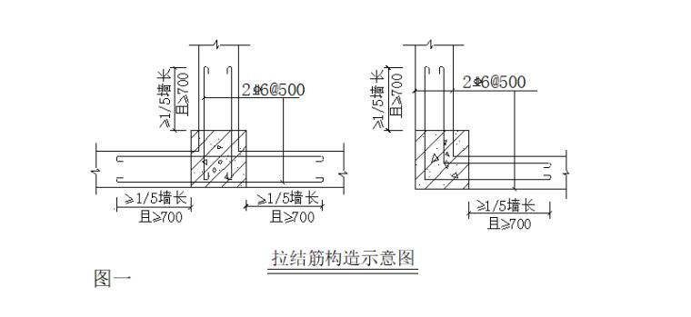 18层剪力墙结构住宅搂施工组织设计-06 拉结钢筋采用后植筋方式